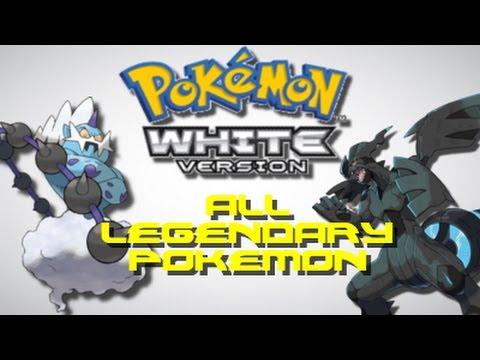 Pokemon White: ALL Legendary Pokemon Locations