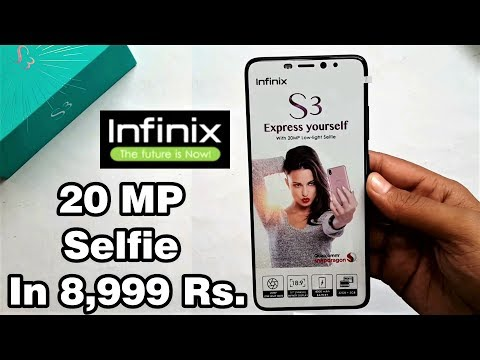 (HINDI) Infinix Hot S3 Unboxing & 1st Impression