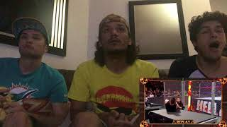 LIVE HELL IN A CELL 2017 REACTION SHANE JUMPS OFF THE CELL, SAMI ZAYN SAVES KEVIN OWENS!!!