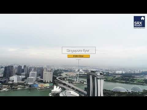 Marina Bay Residences on X-Drone