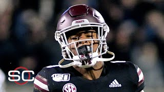 Mississippi State RB Kylin Hill threatens to boycott if state doesn't change flag | SportsCenter