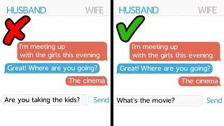 HUSBAND VS WIFE