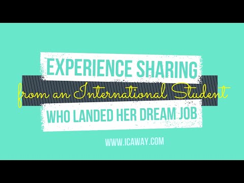 How I landed my dream job - International student in the U.S. 2017