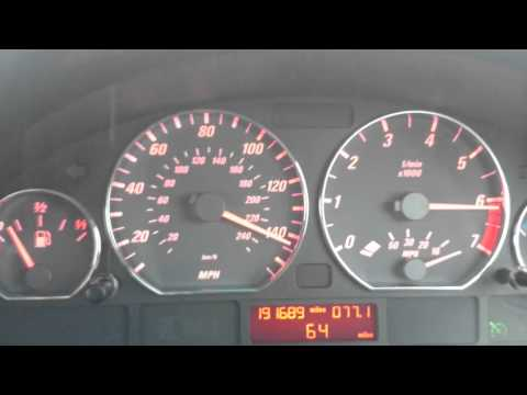 BMW e46 325ci 2002 max speed