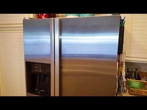 Cleaning & Polishing Stainless Steel Jenn-Air Refrigerator & Freezer Appliance - Weiman Cleaner