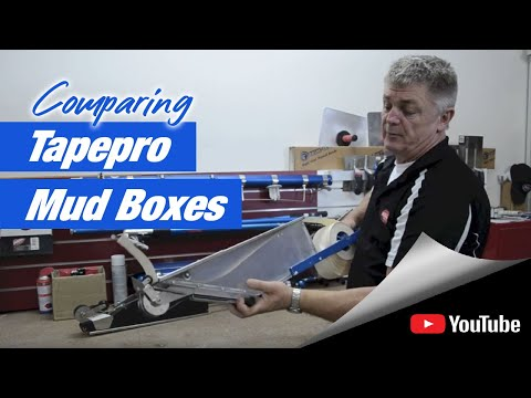 Comparing Tapepro Mud Boxes