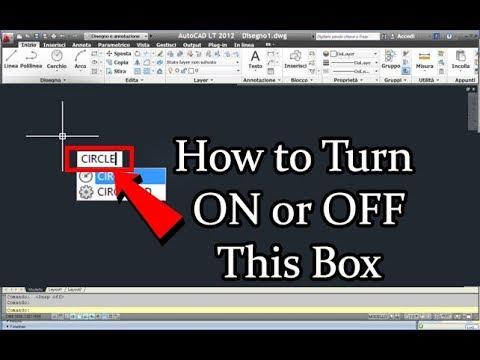 How To Turn Off & Turn On Dynamic Input In AutoCAD | DigitalKnowledge