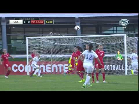 USWNT Switzerland 2015 Algarve Cup Group B Full Game FOX SPORTS USA