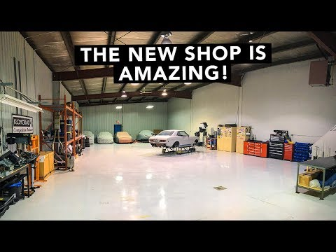 We're Moved In! Tour Our New Shop