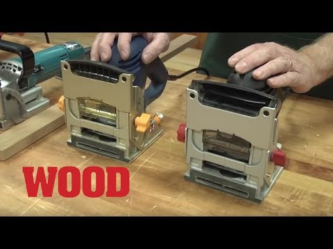 What to Look for in a Biscuit Joiner - WOOD magazine