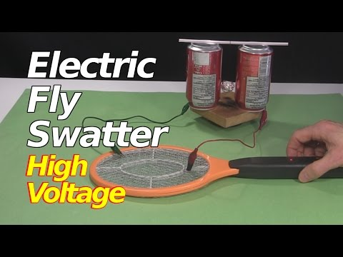 Electric Fly Swatter/Zapper Racket High Voltage Power Supply