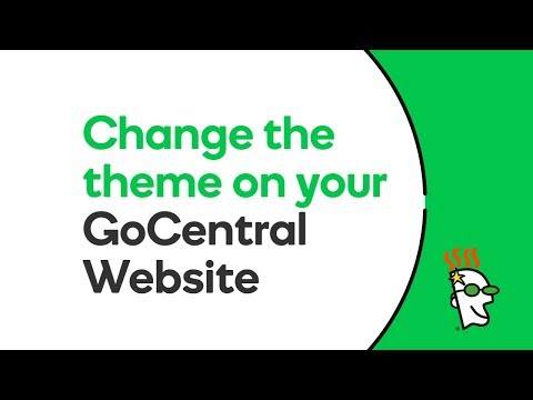 How to Change the Theme on your GoCentral Website   GoDaddy