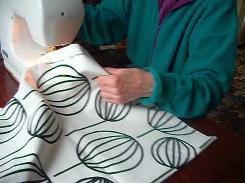 Easy to make shopping bags.