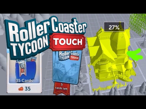 [OLD] Do Decorations Help?? | Roller Coaster Tycoon Touch | More Packs | RCT Touch | #8