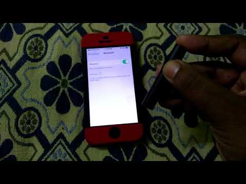 Mi bluetooth headset connected on i phone se in tamil