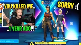 This streamer killed me 1 YEAR AGO and I added him in SEASON X... (I confronted him)