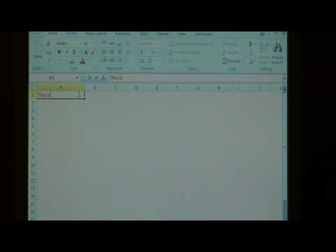 Microsoft Software Solutions : How to Indent Cells in Excel
