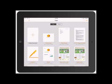 Pages for iPad: Word processing on iPad