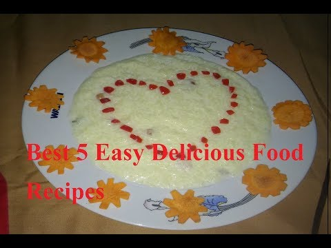 Best 5 Easy Delicious Food Recipes - Best Food Recipes in the World | awesome food recipes