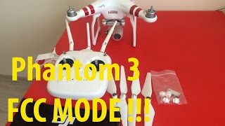 DJI Phantom 3/4k | CE to FCC 27 dBm | Hack Drone | - PakVim net HD