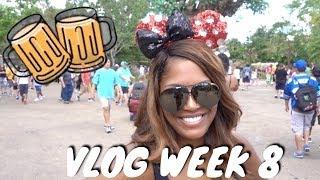 Vlog Week 8: Drunk at Disney World