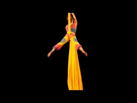Natalie Nowak - Aerial Silks Act - Colour of Life