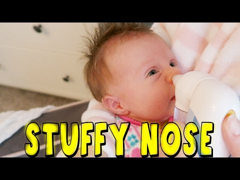 NEWBORN HAS STUFFY NOSE
