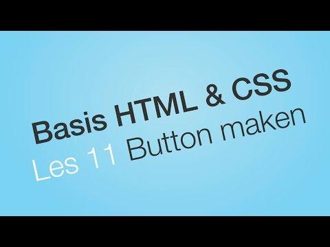 Een button maken - Les 11 - Website leren bouwen - Basis HTML & CSS (Dutch/NL Tutorial)