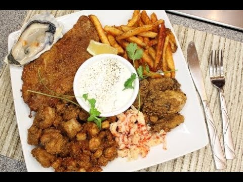 Deep Fried Seafood Platter  (Saturday Meal) (Legacy) 💋