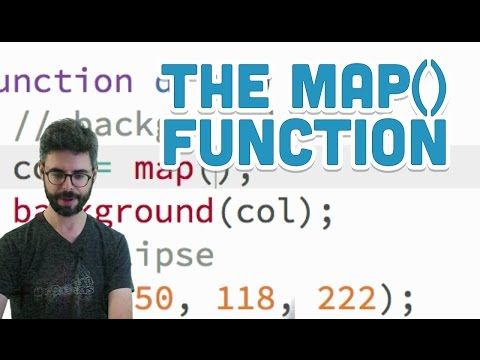 2.4: The map() Function - p5.js Tutorial