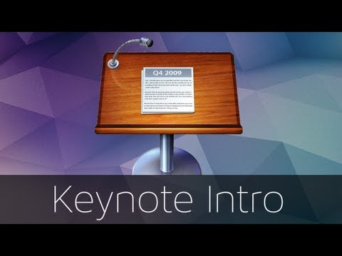 How to make a cool intro in Keynote