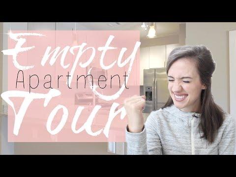EMPTY APARTMENT TOUR 2017 | New Construction