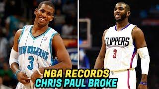 NBA RECORDS Chris Paul Has BROKEN! Crazy NBA Records!