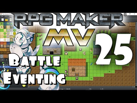RPG Maker MV Tutorial #25 - Battle Eventing