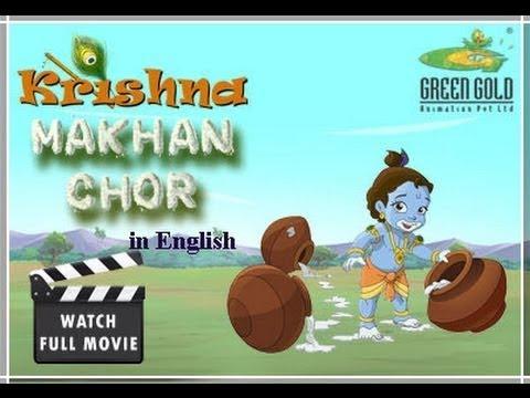 Krishna makhan chor full cartoon movie