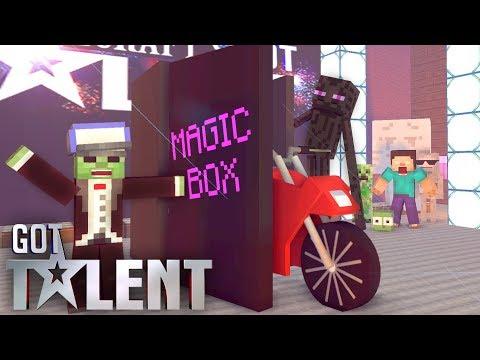 Monster school : Got talent - minecraft animation