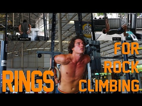 The Best Strength Exercises for Rock Climbing | RINGS 3/3