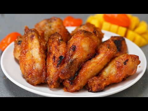 Spicy Mango Chicken Wings