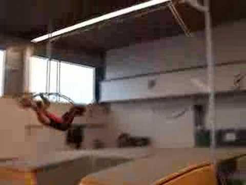crazy pole vault accident (aut)