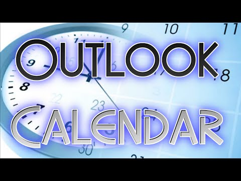 Outlook 2010: Create and Share a Calendar Video