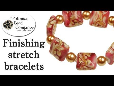 Making Stretch Bracelets