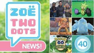 YOUTUBERS IN GERMANY, GO FEST & NEW LEGENDARIES | ZTD News - Pokemon GO | ZoeTwoDots