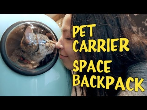 Pet Carrier / Cat Space Backpack Review + Useful Tip