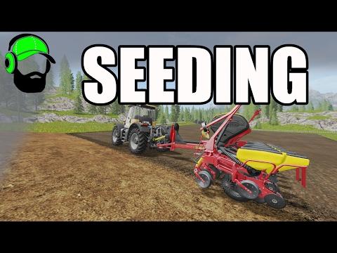 Farming Simulator 17 Courseplay Tutorial - Seed + Refill  - #FS17