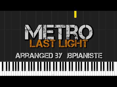Metro: Last Light OST [Piano Tutorial] (Synthesia) // JbPianiste
