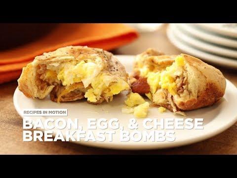 How to Make Bacon Egg and Cheese Breakfast Bombs | Breakfast Recipes | Allrecipes.com