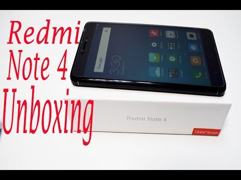 Xiaomi Redmi Note 4 - Unboxing & Hands On|Redmi note 4 Unboxing 4GB RAM 64GB ROM-Redmi Note Reviews