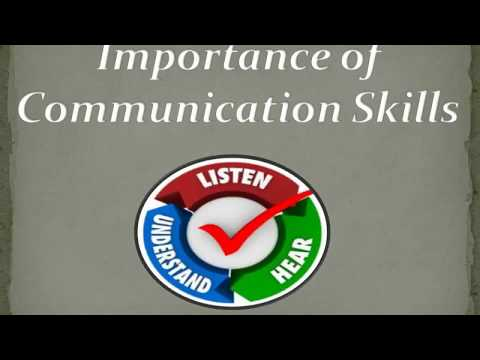 Why Communication Skills are Important? What are the types of Communication Skills?