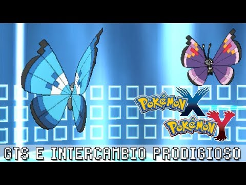 Pokémon X / Y ۩ GTS e Intercambio prodigioso