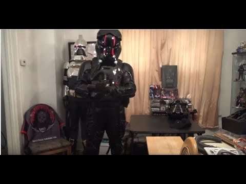 How to put on FIRST ORDER TIE Pilot Armor by James Hannon (TI-6799 - 501st Legion)